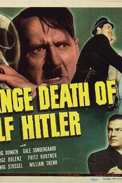 Caratula, cartel, poster o portada de The Strange Death of Adolf Hitler