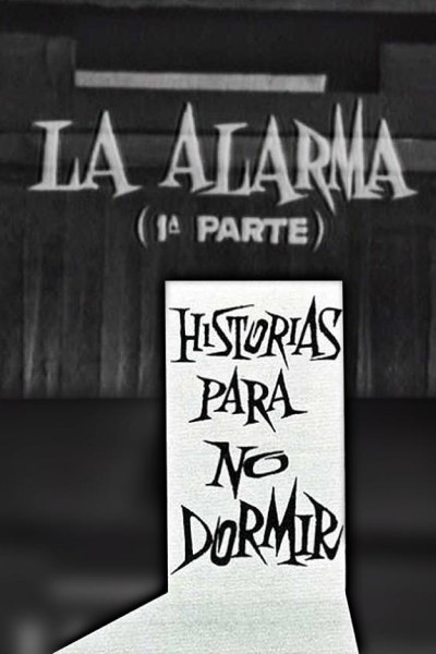 Caratula, cartel, poster o portada de La alarma (Historias para no dormir)