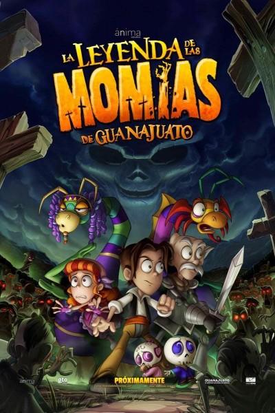 Caratula, cartel, poster o portada de La leyenda de las momias de Guanajuato