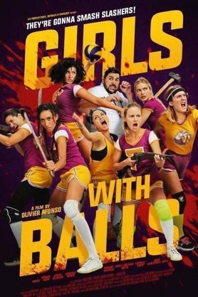 Caratula, cartel, poster o portada de Chicas con pelotas