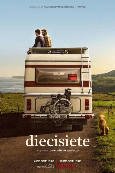 Caratula, cartel, poster o portada de Diecisiete