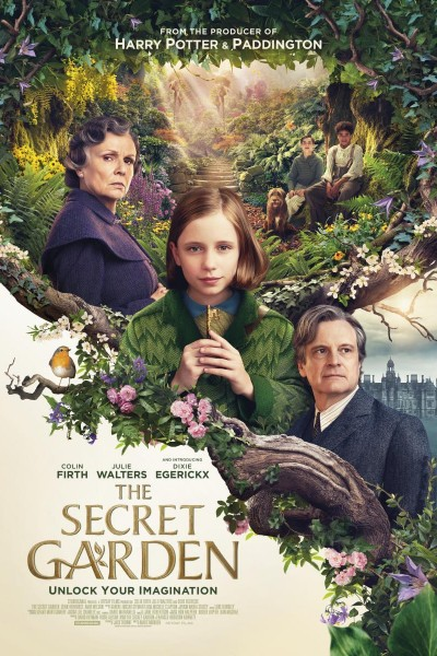 Caratula, cartel, poster o portada de El jardín secreto