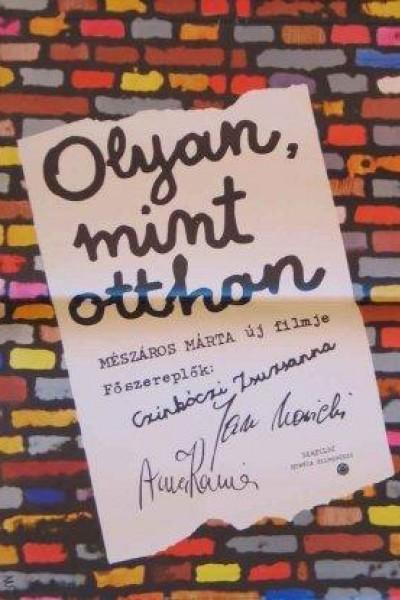 Caratula, cartel, poster o portada de Olyan mint otthon (Just Like at Home)