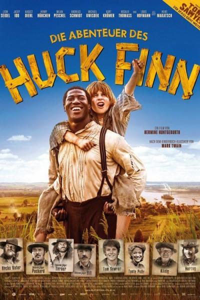 Caratula, cartel, poster o portada de Las aventuras de Huckleberry Finn