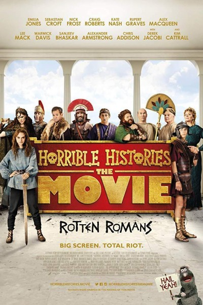 Caratula, cartel, poster o portada de Horrible Histories: The Movie - Rotten Romans
