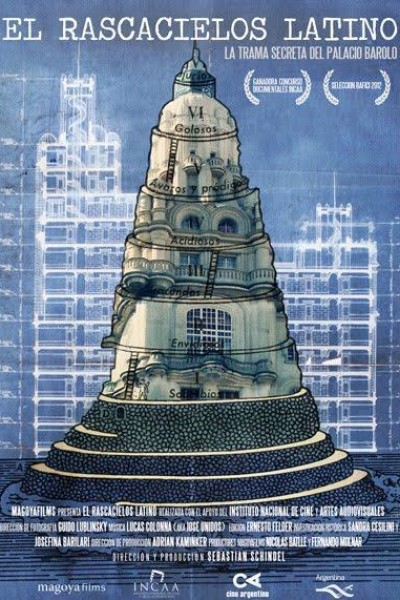 Caratula, cartel, poster o portada de El rascacielos latino