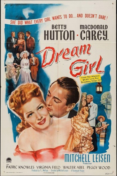 Caratula, cartel, poster o portada de Dream Girl