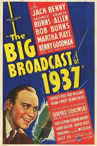 Caratula, cartel, poster o portada de The Big Broadcast of 1937