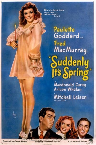 Caratula, cartel, poster o portada de Suddenly, It\'s Spring