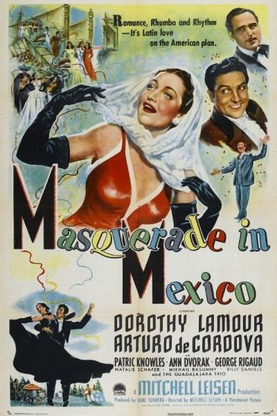 Caratula, cartel, poster o portada de Mascarada en México