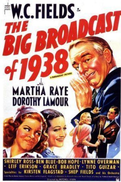 Caratula, cartel, poster o portada de The Big Broadcast of 1938