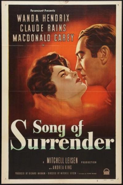 Caratula, cartel, poster o portada de Song of Surrender