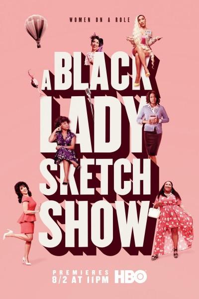Caratula, cartel, poster o portada de A Black Lady Sketch Show