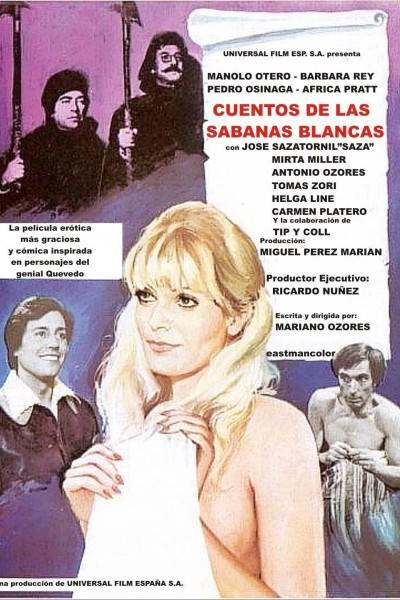 Caratula, cartel, poster o portada de Cuentos de las sábanas blancas
