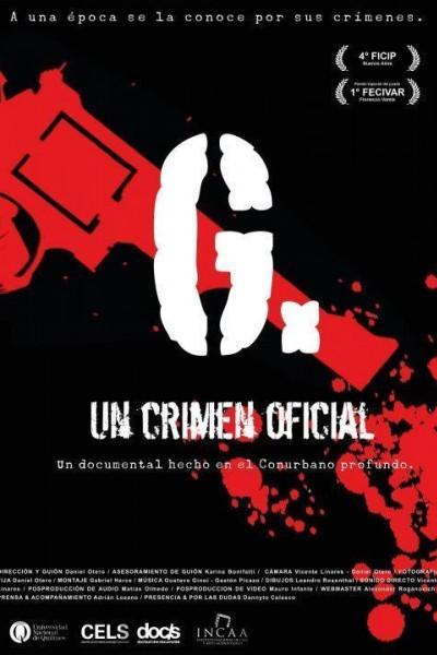 Caratula, cartel, poster o portada de G. Un crimen oficial