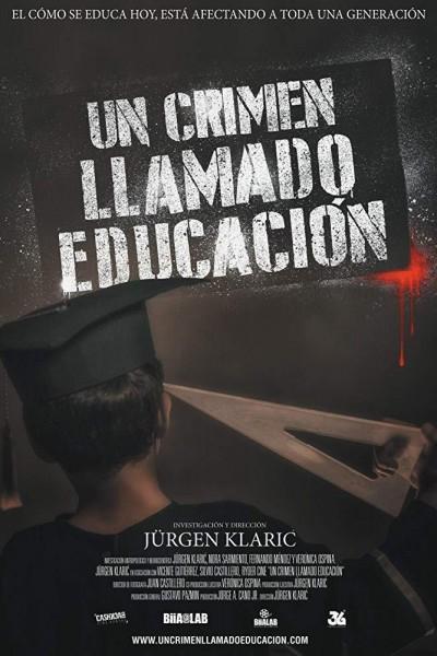 Caratula, cartel, poster o portada de Un crimen llamado educación