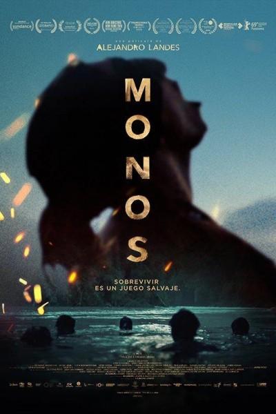 Caratula, cartel, poster o portada de Monos