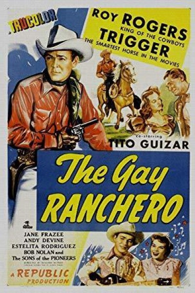 Caratula, cartel, poster o portada de The Gay Ranchero