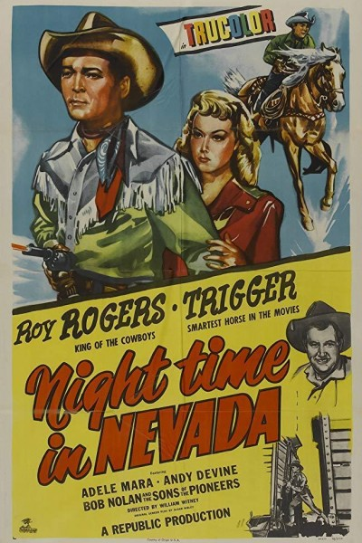 Caratula, cartel, poster o portada de Night Time in Nevada