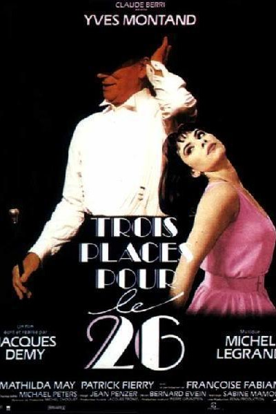 Caratula, cartel, poster o portada de Trois places pour le 26 (Tres entradas para el 26)