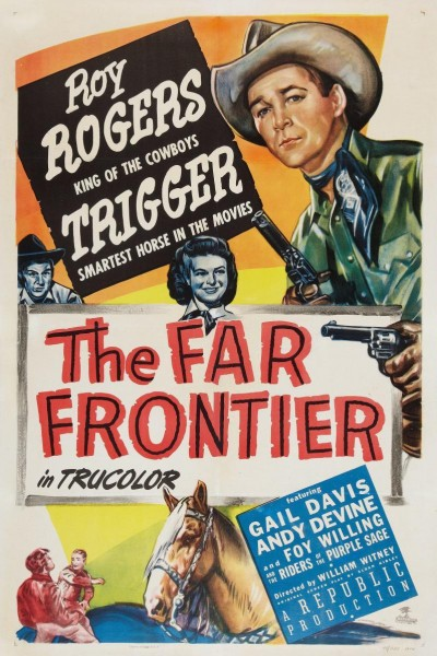 Caratula, cartel, poster o portada de The Far Frontier