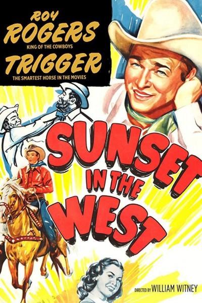 Caratula, cartel, poster o portada de Sunset in the West