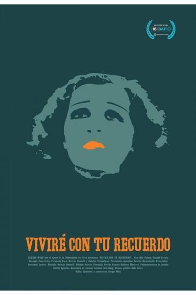 Caratula, cartel, poster o portada de Viviré con tu recuerdo
