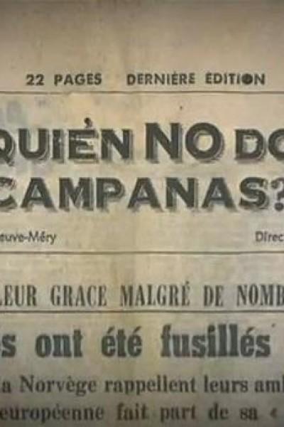 Caratula, cartel, poster o portada de ¿Por quién no doblan las campanas?