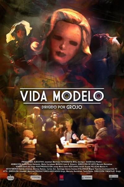 Caratula, cartel, poster o portada de Vida Modelo