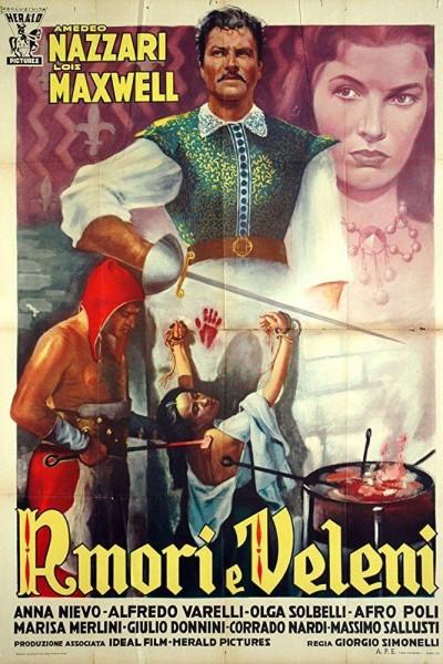 Caratula, cartel, poster o portada de Amor y veneno