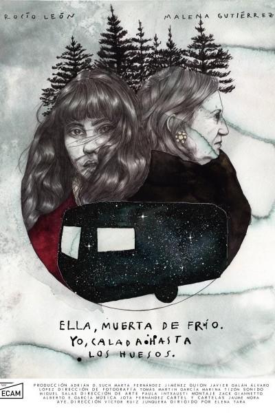Caratula, cartel, poster o portada de Ella, muerta de frÍo. yo, calada hasta los huesos
