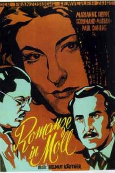 Caratula, cartel, poster o portada de Romanza en tono menor