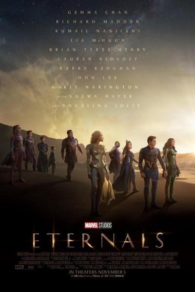 Caratula, cartel, poster o portada de Eternals