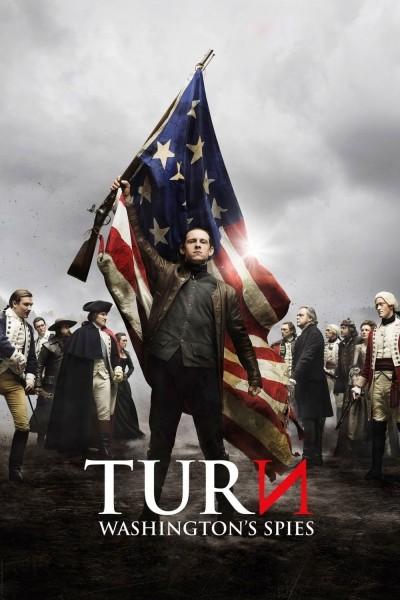 Caratula, cartel, poster o portada de TURN: Espías de Washington