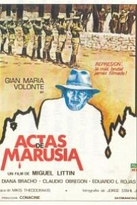 Caratula, cartel, poster o portada de Actas de Marusia