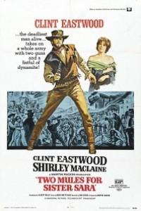 Caratula, cartel, poster o portada de Dos mulas y una mujer