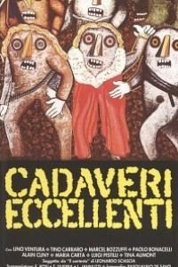 Caratula, cartel, poster o portada de Excelentísimos cadáveres