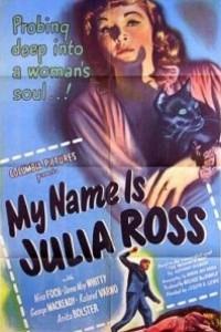Caratula, cartel, poster o portada de Mi nombre es Julia Ross