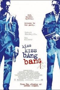 Caratula, cartel, poster o portada de Kiss Kiss Bang Bang