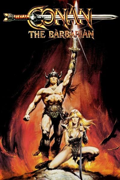Caratula, cartel, poster o portada de Conan, el bárbaro