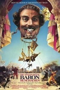 Caratula, cartel, poster o portada de Las aventuras del barón Münchausen