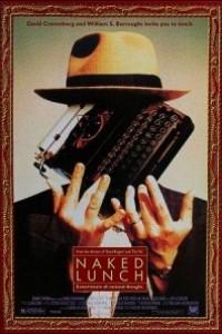 Caratula, cartel, poster o portada de El almuerzo desnudo
