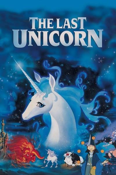 Caratula, cartel, poster o portada de El último unicornio