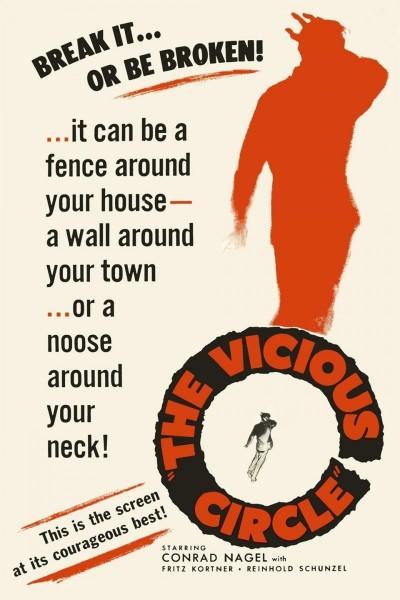 Caratula, cartel, poster o portada de El círculo vicioso