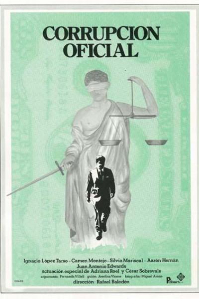 Caratula, cartel, poster o portada de Corrupción oficial