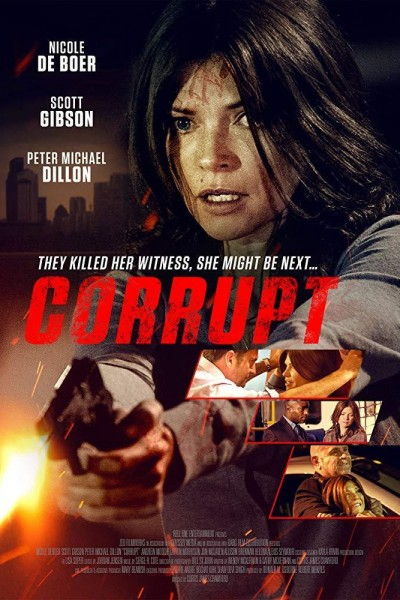 Caratula, cartel, poster o portada de Corrupción
