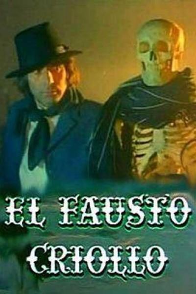 Caratula, cartel, poster o portada de El Fausto criollo