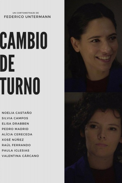Caratula, cartel, poster o portada de Cambio de turno