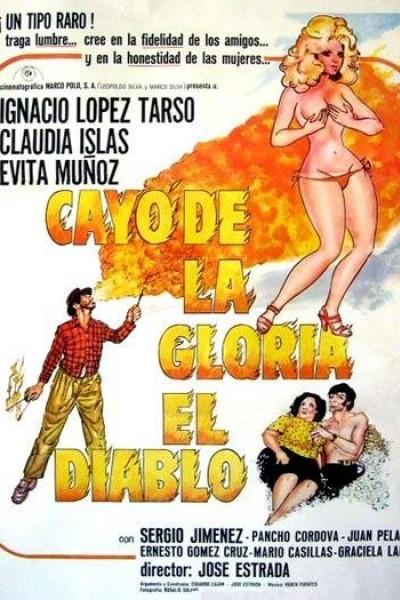 Caratula, cartel, poster o portada de Cayó de la gloria el diablo