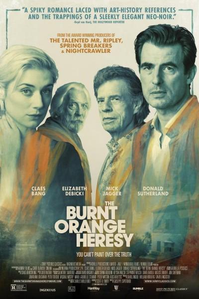 Caratula, cartel, poster o portada de The Burnt Orange Heresy